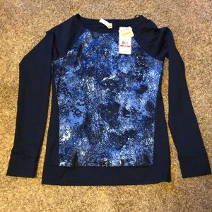 NWT Under Armour XS fitted long sleeve top